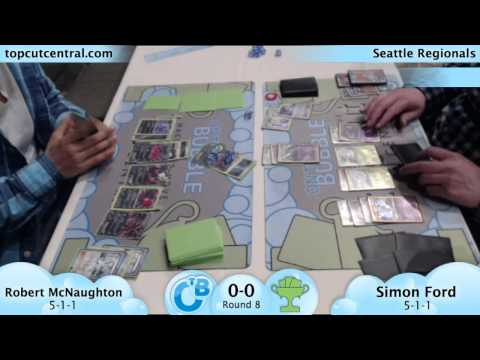 Seattle Regionals Round 8 Robert McNaughton (Darkrai + Yveltal) vs Simon Ford (Accelgor + Trevenant)