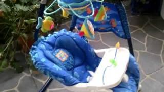 Fisher Price baby swing sea aquarium