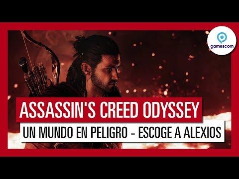 """Assassin's Creed Odyssey: Gameplay Tráiler """"Un Mundo en Peligro"""" - Gamescom 2018 - Alexios"""