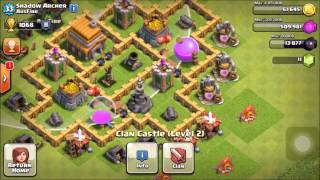 "CLASH OF CLANS NEW BASE REVIEW FOR ""THE SHADOW"" AND (THE BEST AUSSIE BASE YET)"