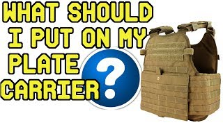 What Should I put on my Plate Carrier? Guide to Building a Plate Carrier Set up