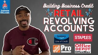 Retail Revolving Account Vendors, Net 55 | How to Build Business Credit in 2021