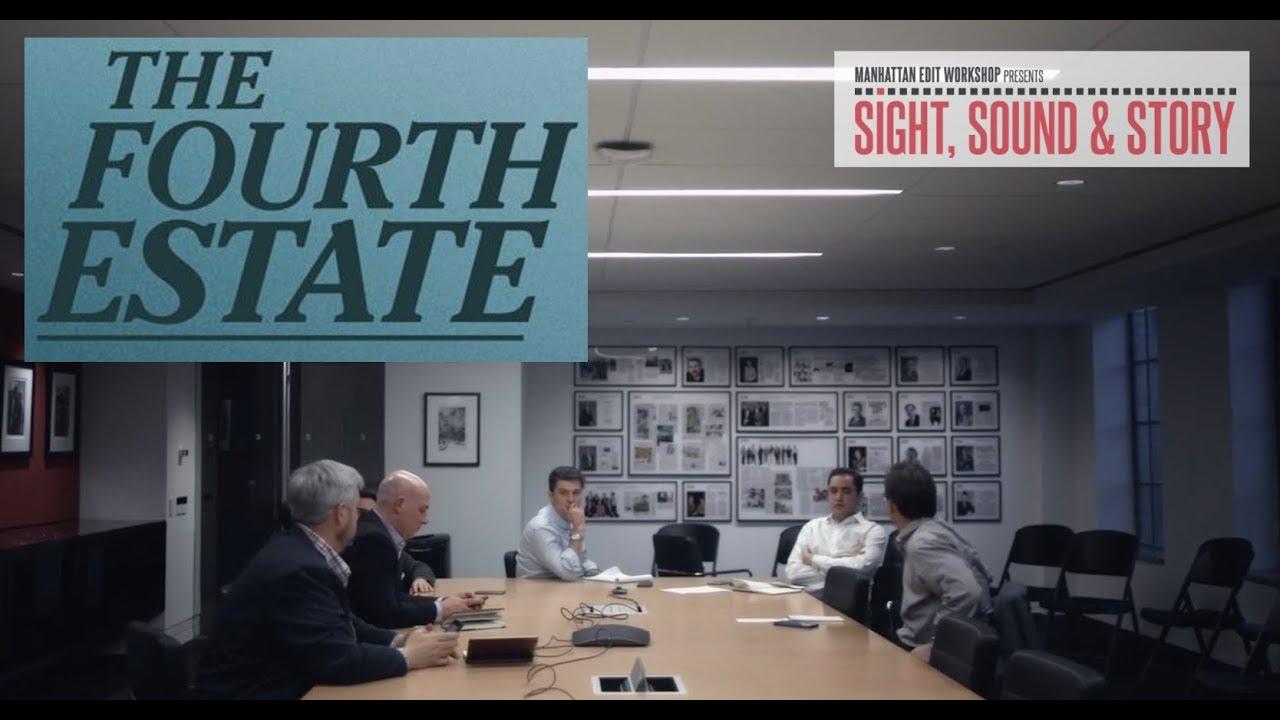 "Download Editor Matthew Hamachek Talks Foreboding Editing in ""The Fourth Estate"""