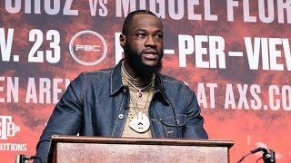 Deontay Wilder joins The PBC Podcast ahead of #WilderOrtiz2