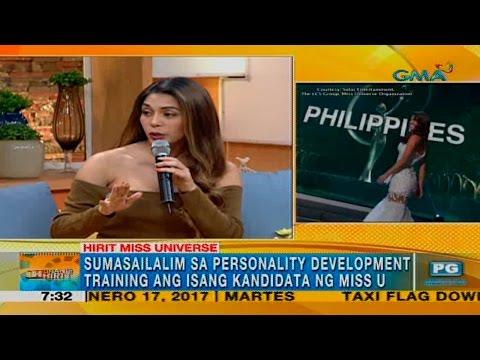 Unang Hirit: MJ Lastimosa, nagbahagi ng Miss U experience
