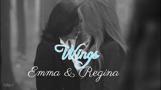 wings | emma and regina