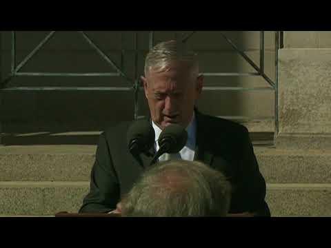 Mattis Swears in New Navy Secretary