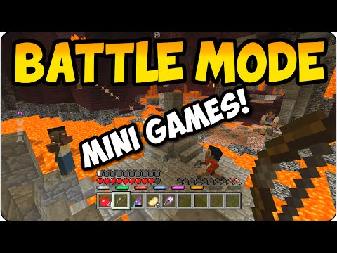 Minecraft Battle Mode Arena - New Mini Game Update Discussion PS3, PS4, Xbox One, Xbox 360
