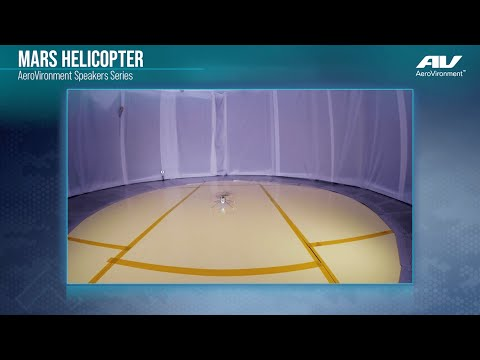 Mars Helicopter Speakers Series - Early Design & Testing