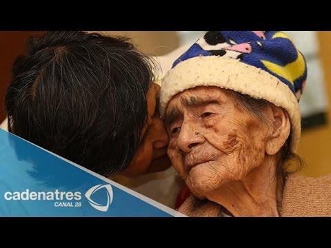 La mujer más longeva del mundo / Mexicana de 127 años, mujer más longeva del mundo