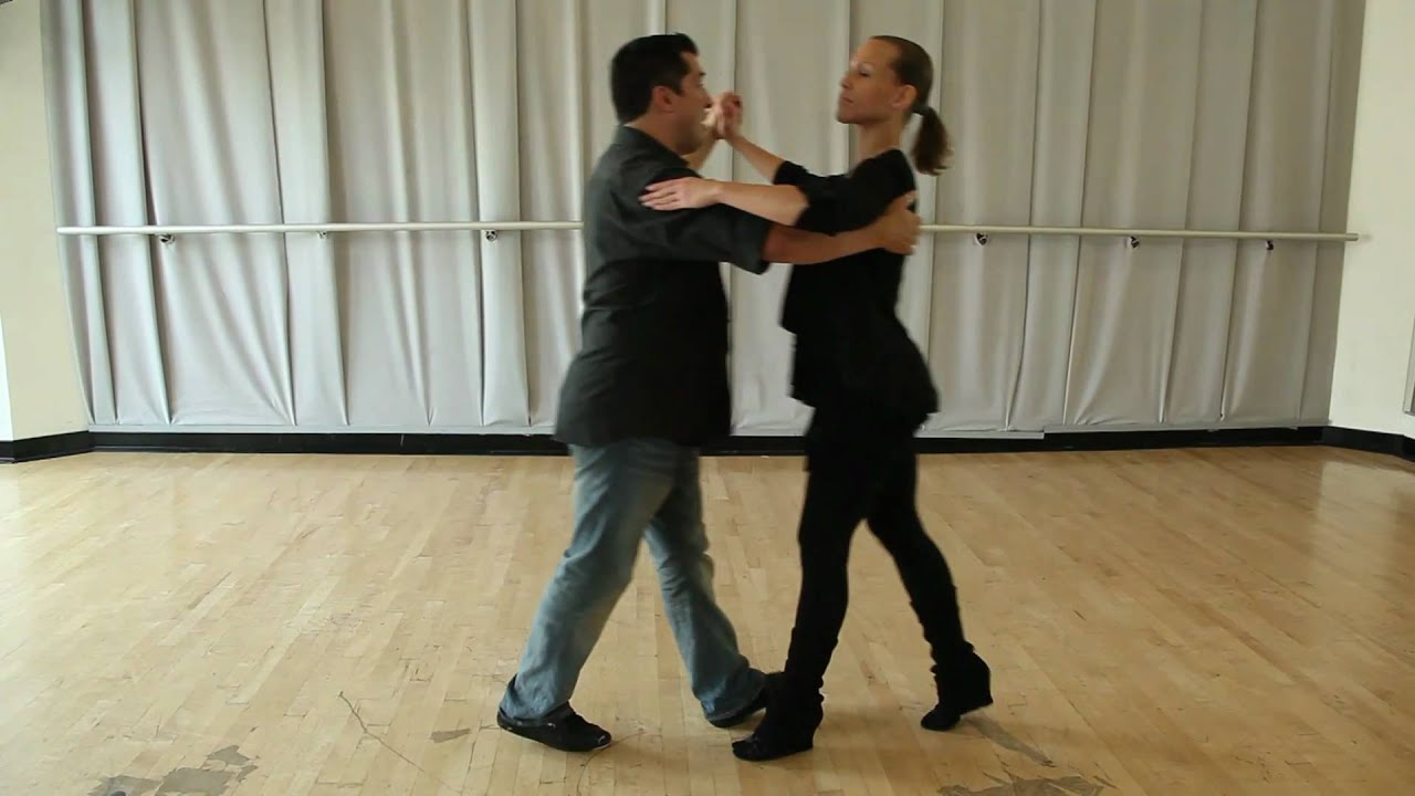 Learn How to Dance - The Waltz - beginner box lesson - YouTube