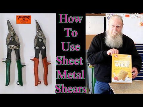 Air sheet metal shear Blade-Centre Lame