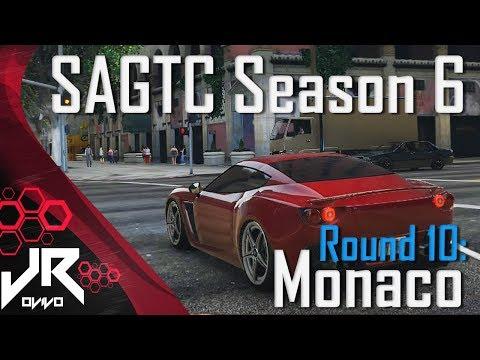 GTA V SAGTC Season 6 - Race 10: Monaco - Scuderia Grotti [Twitch]