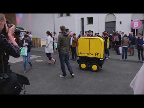 PostBOT Republica Rp18 DeutschePost Roboter