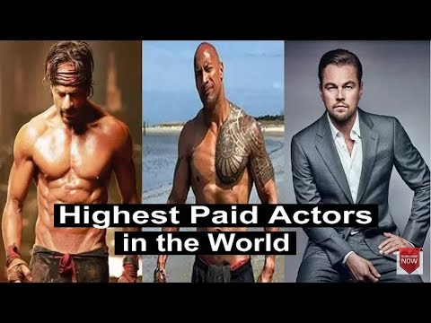 Highest paid actor in the world ||Top 10 allover the world 2018||Youtube