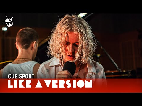 Cub Sport cover Billie Eilish 'when the party's over' for Like A Version