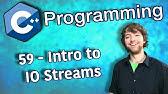 0021 - C++ programming: JSON reader/writer - YouTube