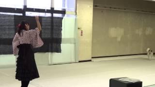 神奈川県産業会館で行われたドッグダンスコラボレーションさんの発表会・競技会にて.