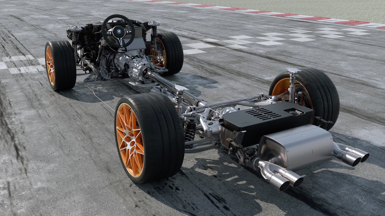 BMW M4 Gts >> BMW M4 GTS - The Chassis - YouTube