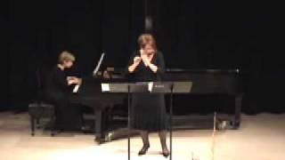 Matt Smith: Sonata No. 1 (Mvt. 1); Christine Beard, piccolo