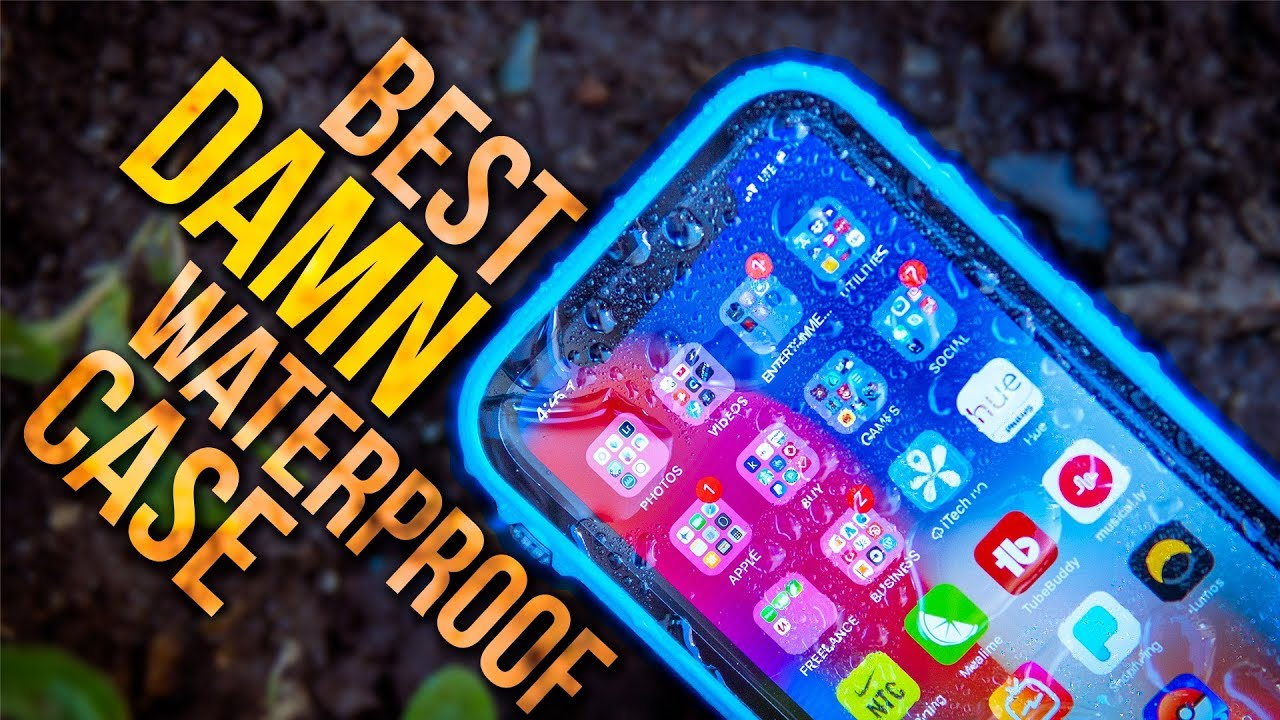 newest 5b2eb 4e5b0 The BEST Waterproof Case! - Catalyst Waterproof Case for iPhone X