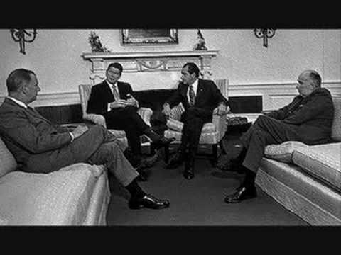 NIXON TAPES: Ronald Reagan & Vietnam Blockade (John Mitchell)