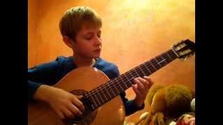 Игра на гитаре:Кубинский танец