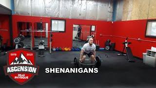 Shenanigans at Ascension Peak Physique
