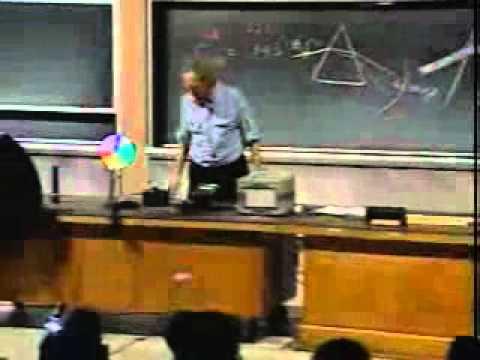 Fizik dalgalar Ders 29 Snell Yasası Kırılma Huygen Prensibi Renk Aldanması