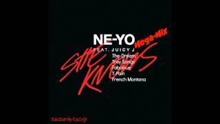 She Knows- Ne-Yo (Mega-Mix) Ft. Juicy J, The-Dream, Trey Songz, Fabolous, T-Pain, French Montana