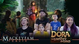 Dora and the Lost City of Gold - Official Trailer - REACTION and REVIEW!!!