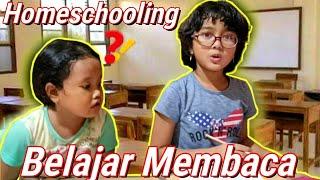 Homeschooling Paling Lucu hehe.. | Hanum dan Bocil Belajar Membaca / Mengeja | Hanum Diary