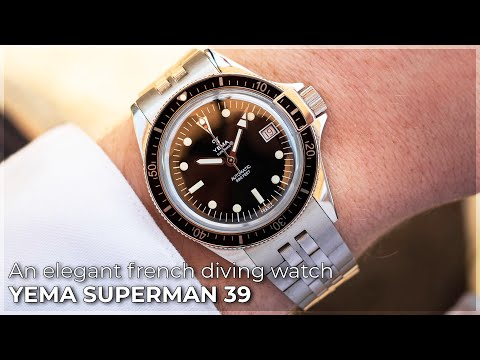 An Elegant French Diving Watch | The Yema Superman 39 Review | WatchGecko