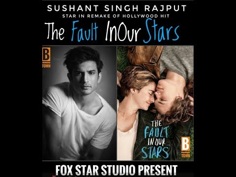 Fox Star Studios to remake the Hollywood hit TheFaultInOurStars star Sushant Singh Rajput!!