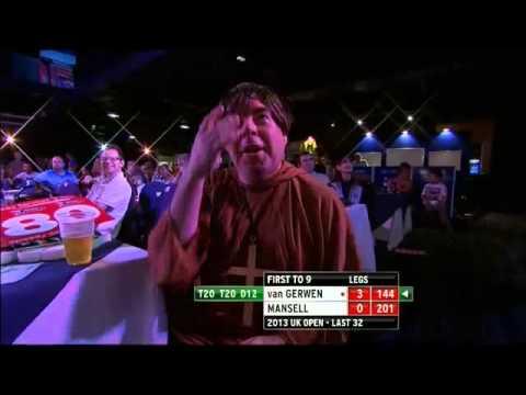 PDC Uk open 2013 - Fourth Round - Van Gerwen vs Mansell