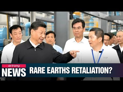 Chinese Leader Xi Jinping Visits Rare Earths Facility In Ganzou City