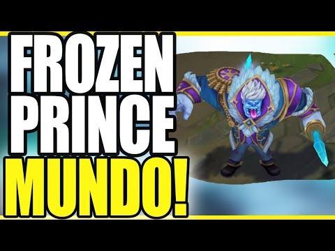 FROZEN PRINCE MUNDO! NEW WINTER MUNDO SKIN! - League of Legends