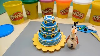 Frozen 2  Queen Elsa Disney play doh Princess Anna Birthday Craft Unboxing