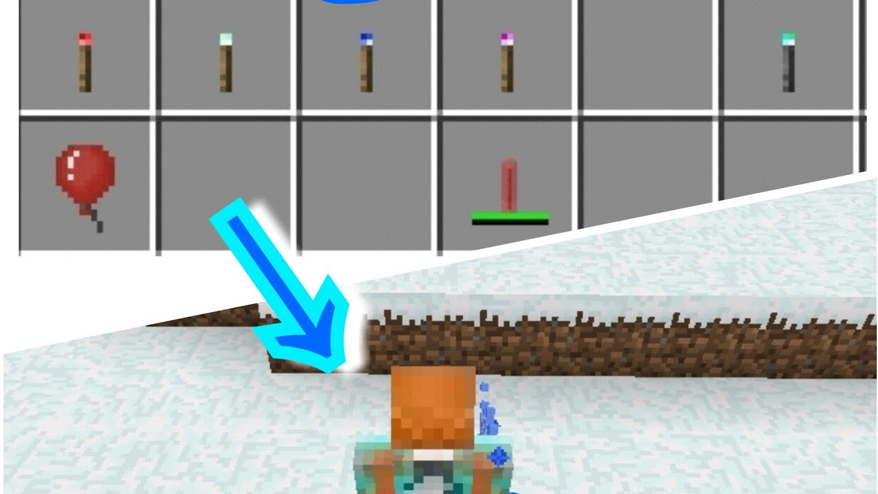 How To Make Balloons, Glow Sticks, Sparklers, And Others! (Timestamps)   Minecraft Education Edition