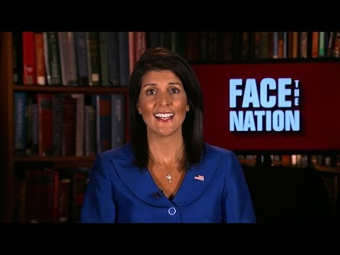 Amb. Nikki Haley weighs in on Russia sanctions
