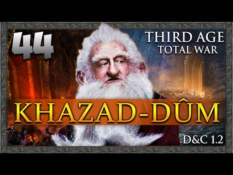 THE ONE RING DESTROYED! Third Age Total War: Divide & Conquer - Khazad-dûm Campaign #44