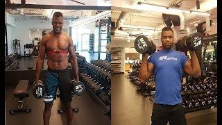 Francis Ngannou UFC/MMA Heavyweight Beast Training