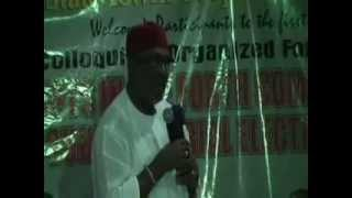 Debate of Anambra State Governor Aspirants organised in abuja