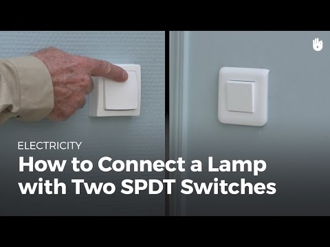 How to Connect a Light with Two Switches | Electricity