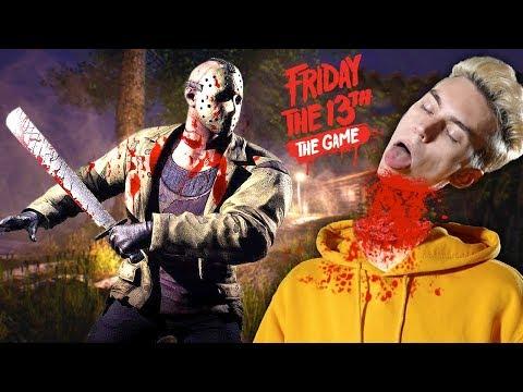 ДЖЕЙСОН ОТРУБАЕТ ГОЛОВЫ ВСЕМ В ПЯТНИЦА 13 😈 Выживание в Friday The 13th: The Game