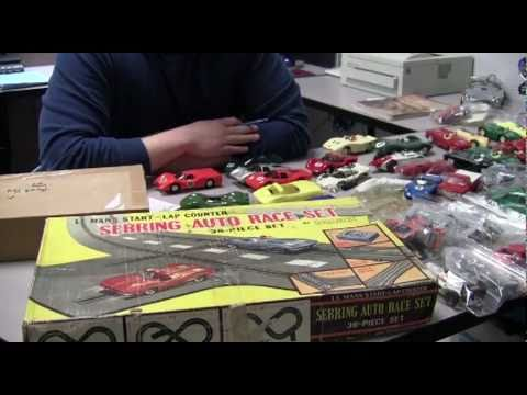 Classic Vintage Electric Slot Cars Head to Collector Auction
