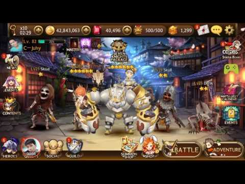 [Seven Knights Asia] Daily Dungeon Thursday (Hell mode)
