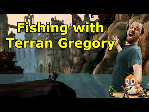 Fishing with Crendor Ep 24: Terran Gregory (WoW Cinematics Project Director)