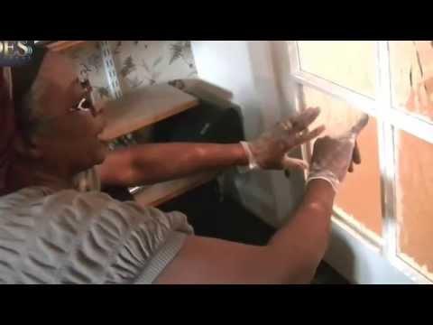 DIY, How to replace broken glass pane in Door