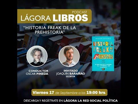 Lágora Libros - Las Historias Freacks de Joaquin Barañao
